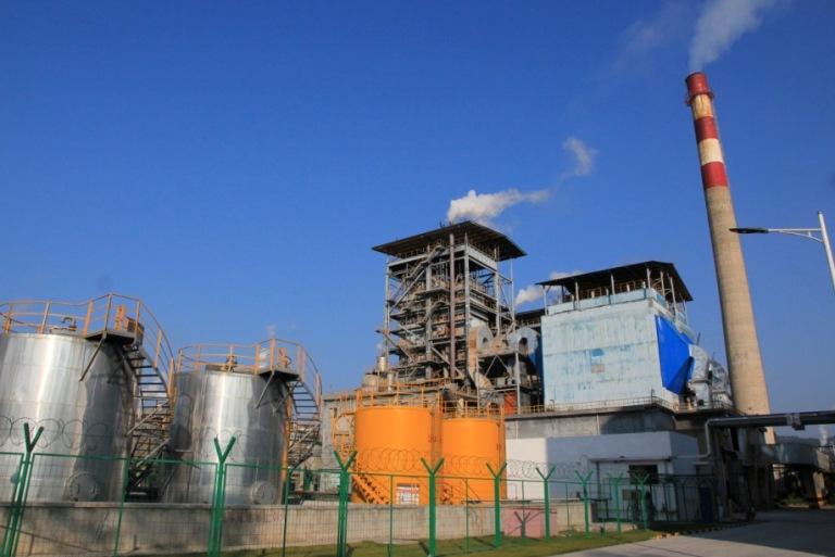 徜徉在森林與竹海的能資源平台鼎豐廠觀摩會