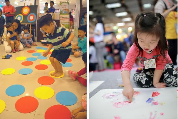 【信誼】 啟動幼兒的感官體驗 信誼點點派對 陪親子歡渡兒童節