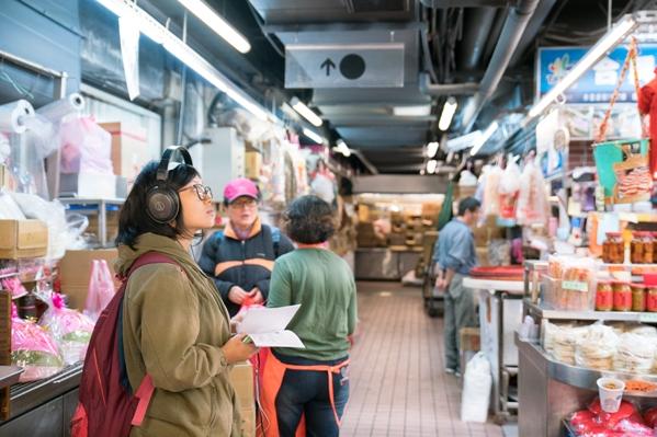 【上善】 深耕城南街區計畫 ─ 「走市場」遊走式展演 傳遞繁忙市場裡的生活溫度