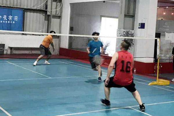 羽動激情「永豐餘盃」第二屆員工羽毛球比賽
