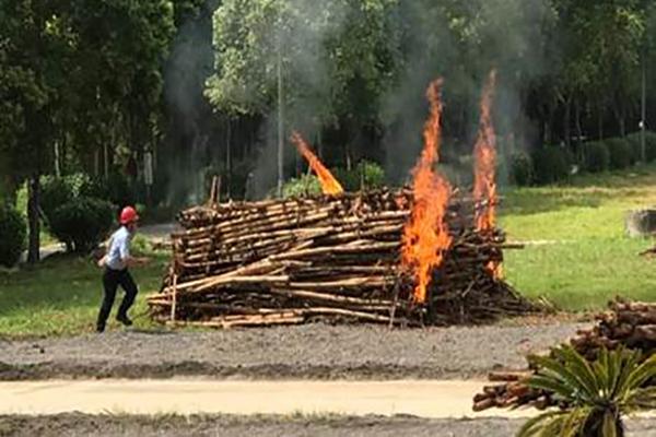 如何滅掉一把火?鼎豐消防演習防範未然