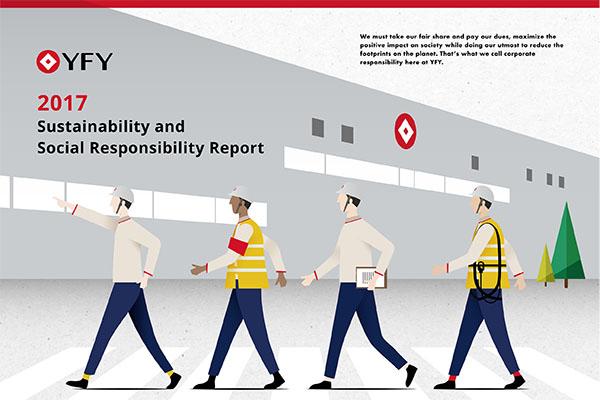 永豐餘企業社會責任報告書英文版上線了