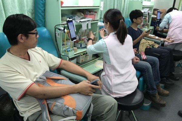 血庫拉警報 中華紙漿花蓮廠再辦捐血活動