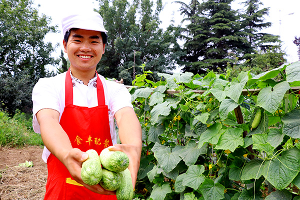 什麼都能種 種什麼都好吃的青島廠蔬果園