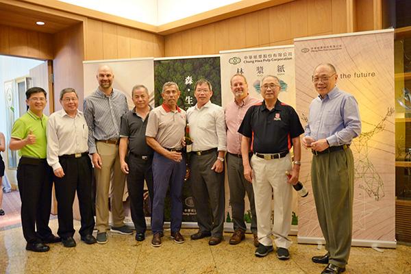 中華紙漿X北卡大學 探討漿紙科學的未來